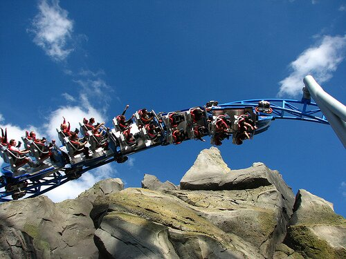 Europa Park launch coaster